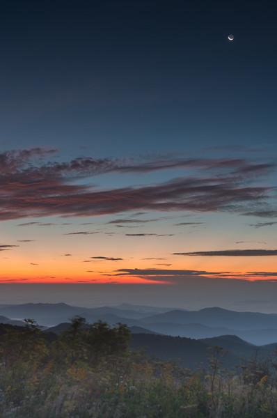Sunrise from the Art Loeb Trail