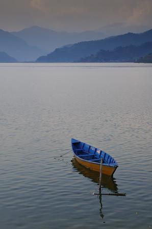 Boat on Phewa Tal