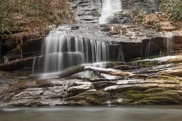 Lower Tom's Branch Falls