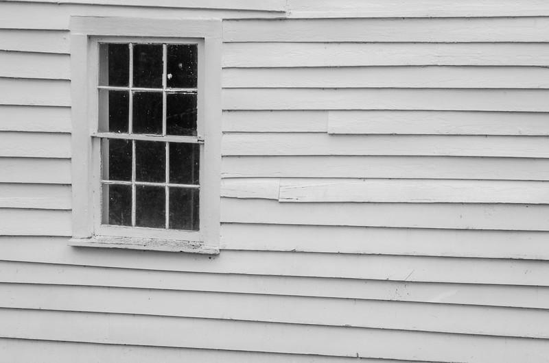 Woody Cabin Window