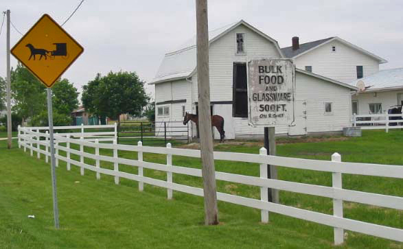 Amish country, Indiana