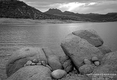 The Rocky Shoreline at Bartlett