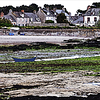 Barfleur Harbor, Low Tide, Normandy, France