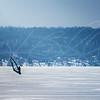 Winter Windsurfing on Winnebago