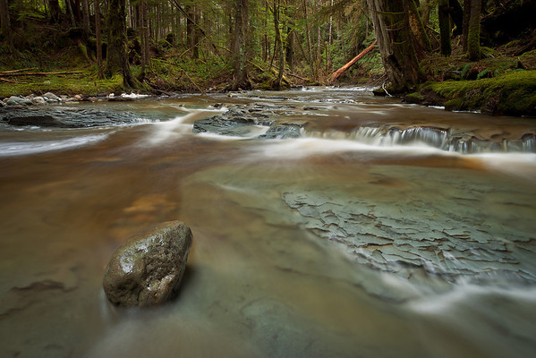 Glen Lyon River- Port Hardy, BC