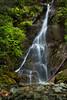 Waterfall- Telegraph Cove, British Columbia.