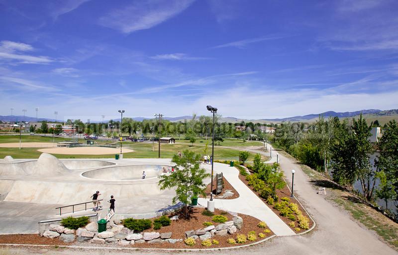 Missoula Skatepark and ball fields