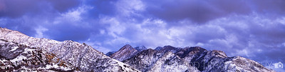 Big Cottonwood Canyon and Peaks