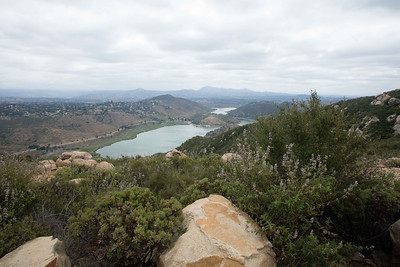 Elfin Forest view of Lake Hodges, San Diego County, CA