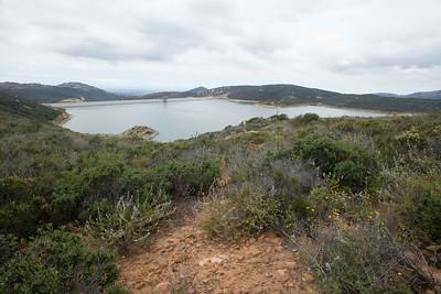 Olivenhain Municipal Water District reservoir
