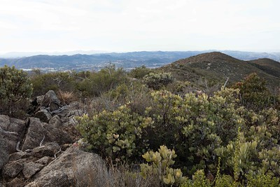 Rodriguez Trail above  Hellhole Canyon
