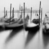 Gondolas and San Giorgio Maggiora, Venice