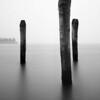 Three posts and the Cemetery corner, Venice
