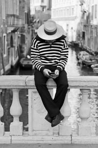 Gondolier, Venice
