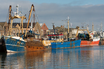 Trawlers - Howth Harbour, Republic Of ireland