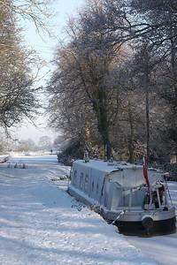Macclesfield Canal, Scholar Green. Winter 2010