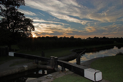 Bosley locks - Macclesfield Canal