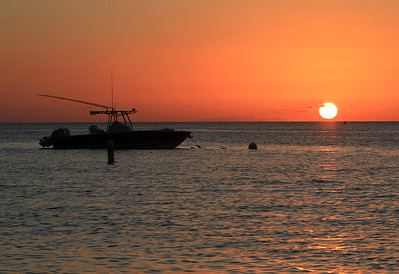 12-28-11 Sunset shot of fishing boat off C.I.