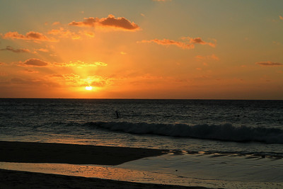 End of the day 1-3-2012 CAYMAN ISLANDS.