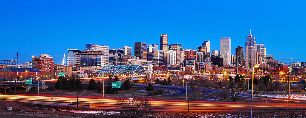 HDR Shot of the Denver Skyline