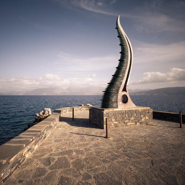 Monument at Agios Nikolaos - Crete