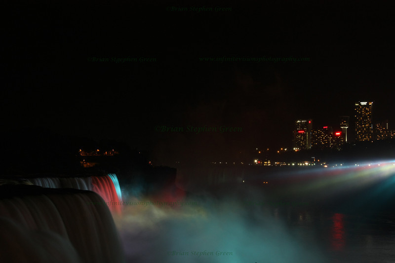 """Niagara at Night #1"""