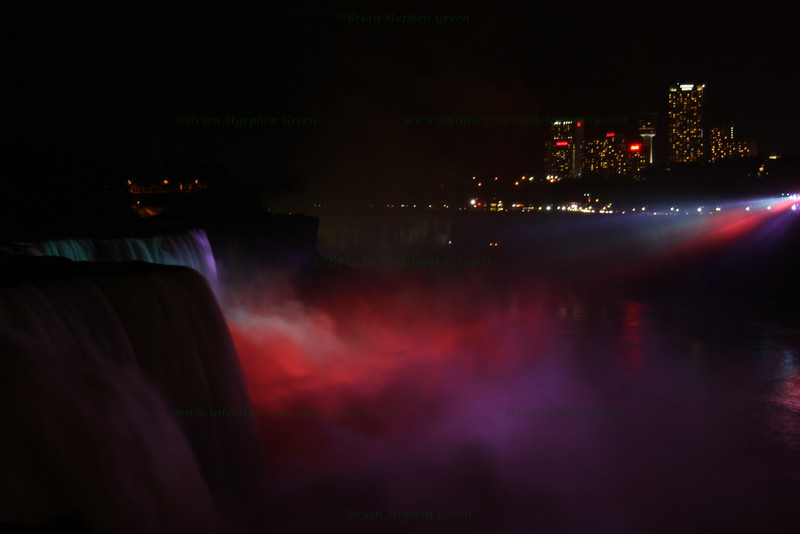 """Niagara at Night #3"""