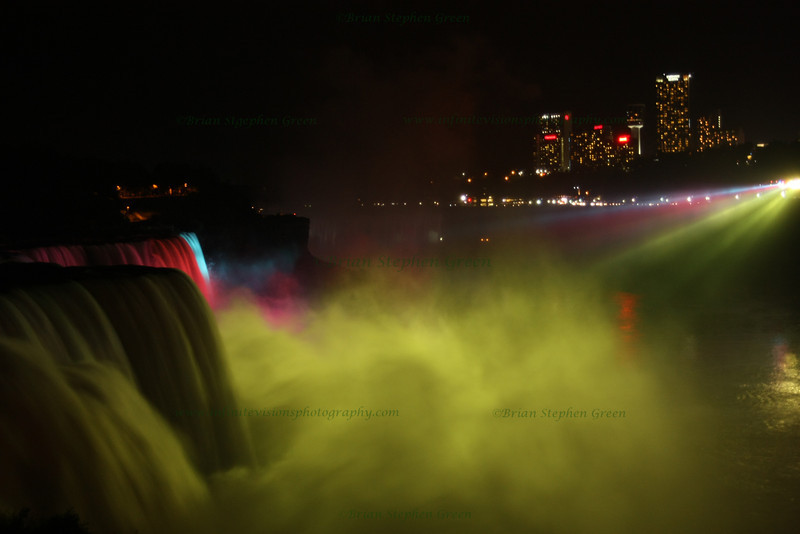 """Niagara at Night #2"""