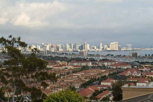 San Diego Bay from Pt Loma 11-06-2011