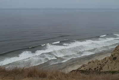 View from the top of the Cliffs in north La Jolla