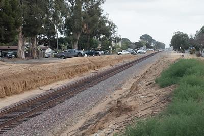 Down the tracks through north Leucadia