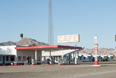 Roy's Cafe Amboy, Route 66
