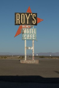 Roy's Cafe Amboy on Route 66