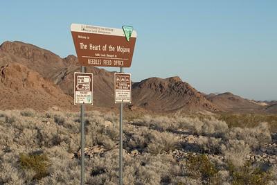 Desert west of Needles