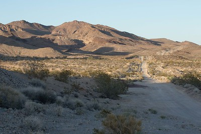 Backroad off Route 66 west of Needles