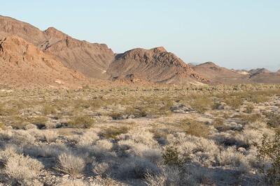 Desert scape west of Needles