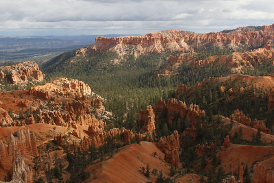 Bryce Canyon experiment with in camera HDR
