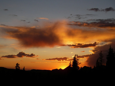 Sunset at Bald Mountain.  Photo by Matthew McKell.