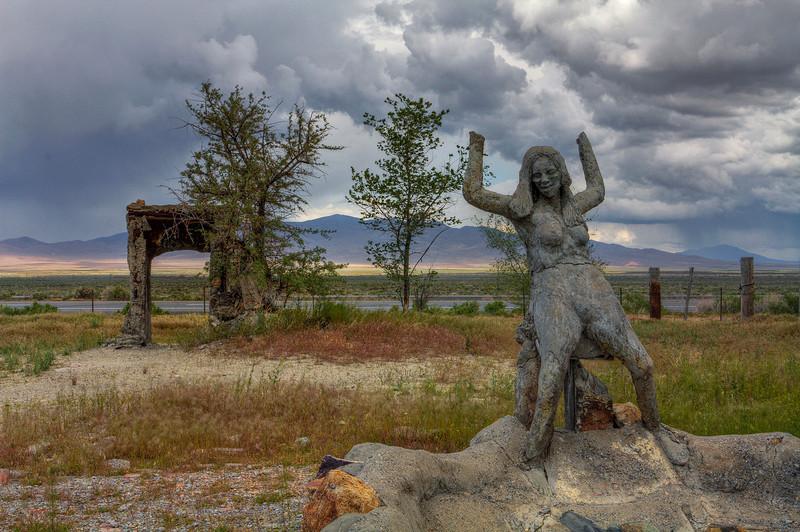 Life (In decay) - Thunder Mountain Park - Imlay, Nevada