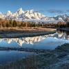Teton Range - Schwabacher Landing - Wyoming