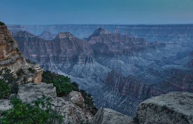 Late Evening - North Rim Grand Canyon