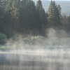 Morning Fog, caught on my wild moose chase!<br /> No moose, just a pretty picture.