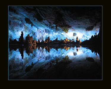 """Reed Flute cave, Guilin, China Won first place in the """"landscape category"""" for 2009 Power of Photography contest in Pensacola. Shot with a Canon G6, 6 mp point and shoot camera."""