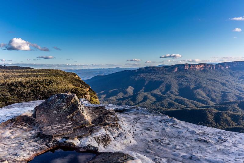Flat Rock in King's Tableland in NSW Australia