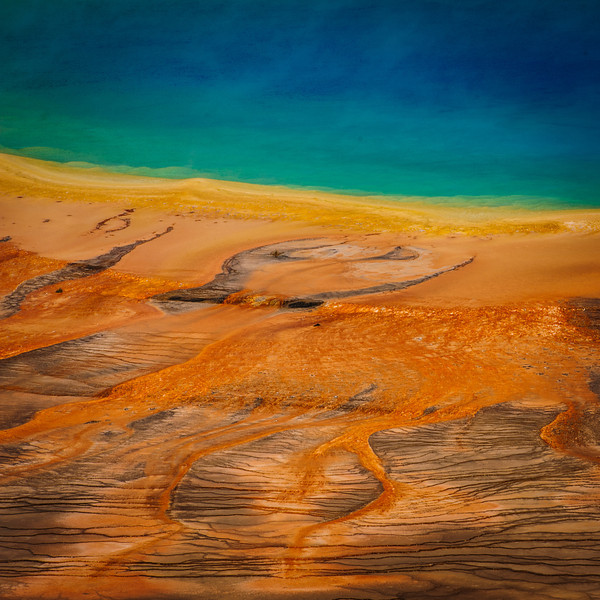 Grand Prismatic Spring Colors #1