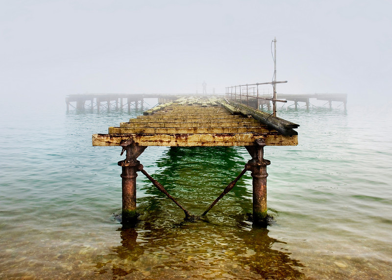 Old Pier - Isle of White