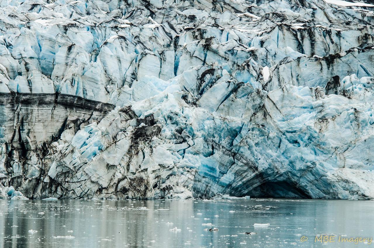 Glacier Detail at Terminus