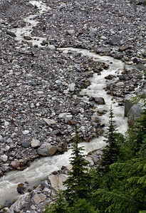 Headwaters of the Nisqually River - Mt. Rainier Washington