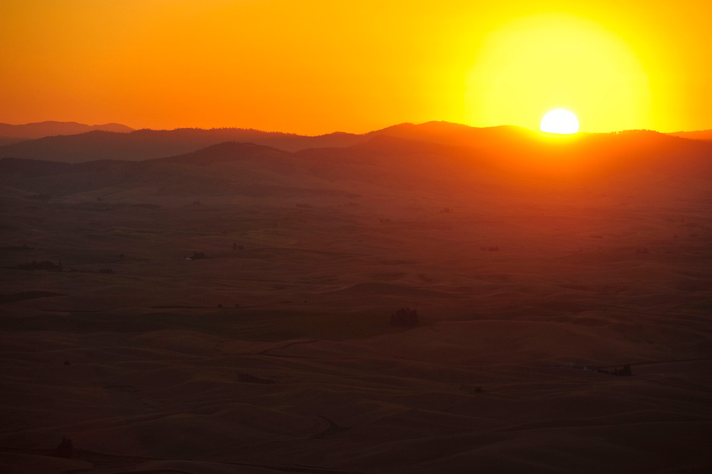 Dawn from the Steptoe Butte