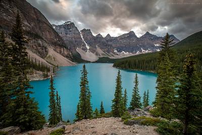 Moraine Lake, Banff Ab.